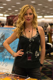Kim Poirier at the Days of the Dead 2013 Convention - Convention. LOS ANGELES - APRIL 05 : Kim Poirier at the Days of the Dead 2013 Convention - Convention Stock Images