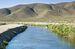 Los Angeles Aqueduct Royalty Free Stock Photo