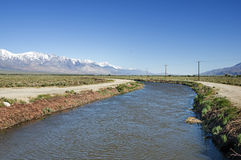 Los Angeles Aqueduct Stock Photo