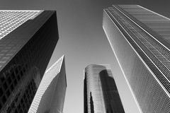 Los Angeles architecture royalty free stock photography