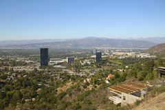 Los Angeles area Royalty Free Stock Images