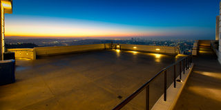 Los Angeles as seen from the Griffith Observatory Royalty Free Stock Photo