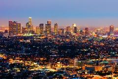 Free Los Angeles At Night Stock Photo - 8349020