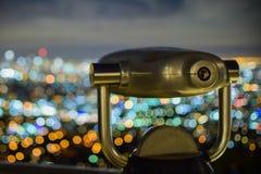 Los Angeles - aufpassend über die Stadt Lizenzfreies Stockbild