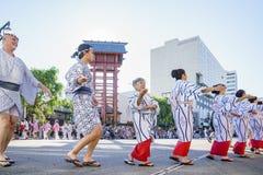 Superb Nisei Week Festival at Little Tokyo Stock Photography