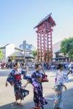Superb Nisei Week Festival at Little Tokyo Stock Image