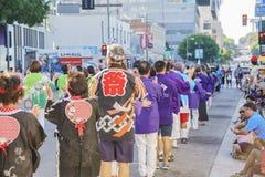 Superb Nisei Week Festival at Little Tokyo Stock Photo