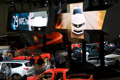 Los Angeles Auto Show Royalty Free Stock Images
