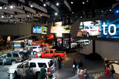 Los Angeles Auto Show. LOS ANGELES - NOVEMBER 22: Once again the L.A. Auto Show opens its door to the public at the Convention Center, with the newest advances Stock Image