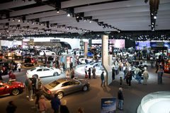 Los Angeles Auto Show. LOS ANGELES - NOVEMBER 22: Once again the L.A. Auto Show opens its door to the public at the Convention Center, with the newest advances Stock Photo