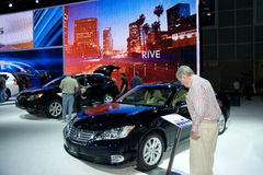 Los Angeles Auto Show Royalty Free Stock Photography