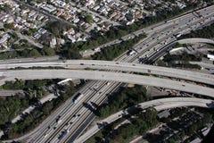 LA Autobahn-Austausch lizenzfreie stockbilder