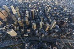 Los Angeles autostrada Góruje antenę Obrazy Stock