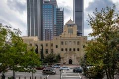 Los Angeles biblioteka publiczna - Los Angeles, Kalifornia, usa zdjęcie stock