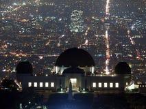 Los Angeles bij Nacht stock foto's