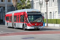 Los Angeles bus Royalty Free Stock Photography