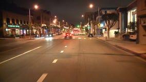 Los Angeles - câmera montada carro - Timelapse - grampo 14 filme