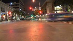 Los Angeles - câmera montada carro - Timelapse - grampo 8 video estoque