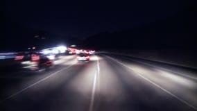 Los Angeles - câmera montada carro - Timelapse - grampo 4 video estoque