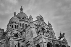 Los Angeles CÅ sacré Du Basilique 'ur De Montmartre Zdjęcie Royalty Free