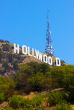 Signe de Hollywood Images stock