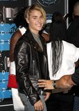 Justin Bieber. LOS ANGELES, CA - AUGUST 30, 2015: Justin Bieber at the 2015 MTV Video Music Awards held at the Microsoft Theater in Los Angeles, USA on August 30 stock images