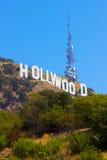 Hollywood-Zeichen Stockbilder