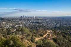 Los Angeles Skyline Stock Images