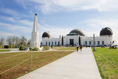 Los Angeles, CA. The Griffith Observatory. Royalty Free Stock Photos