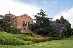 UCLA. Los Angeles, CA: May 7, 2017: UCLA campus. UCLA is a public university located in the Westwood area of Los Angeles Stock Photography