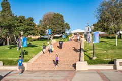 UCLA campus. Stock Photography