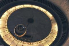 Foucault Pendulum at Griffith Observatory - Los Angeles, Califor. Los Angeles, CA, USA - February 02, 2018: Foucault Pendulum at Griffith Observatory - Los Royalty Free Stock Photo