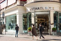 Michael Kors Retail Store royalty free stock photography