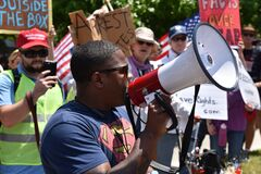 Joe Collins Protest Speaker