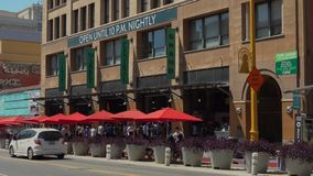 Grand Central Market in Downtown Los Angeles stock footage