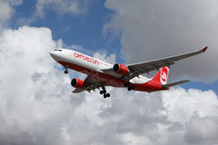 Air Berlin Airbus A330-223 Imagem de Stock Royalty Free