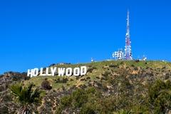 Los Angeles, Californië, de V.S. - 4 Januari, 2019: Het wereldberoemde Teken van oriëntatiepunthollywood royalty-vrije stock afbeelding