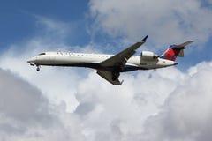 Delta Bombardier van de Verbinding Stock Afbeeldingen