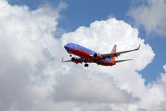 Strijder Één 737-800 van Southwest Airlines Royalty-vrije Stock Foto's