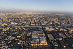 Los Angeles California Afternoon Aerial Royalty Free Stock Photography