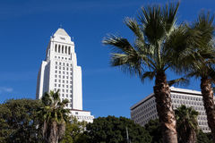 Los Angeles, California City Hall in Downtown LA. Stock Photo