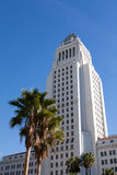 Los Angeles, California City Hall in Downtown LA. Royalty Free Stock Photos