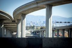 Los Angeles California 105 Freeway royalty free stock image