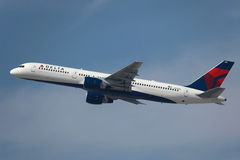 Delta Air Lines Boeing 757-200 Royalty Free Stock Photos