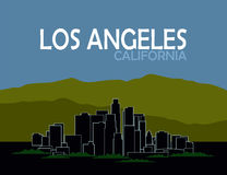 Los angeles california Royalty Free Stock Photography