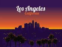 Los angeles california Stock Image