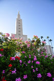Los Angeles California Temple of Mormon Stock Images