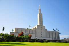Los Angeles California Temple of Mormon Royalty Free Stock Photography
