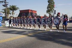 Los Angeles, California, U.S.A., il 19 gennaio 2015, trentesimo Martin Luther King Jr annuale Parata di giorno di regno, LA tutte Immagine Stock