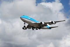 KLM Boeing 747-400 Fotografia Stock